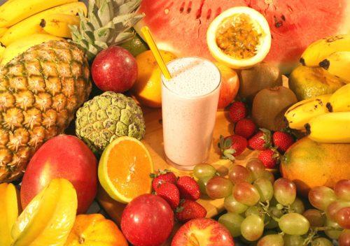 Suc de fructe cu vitamina C